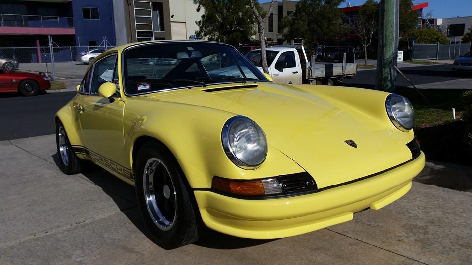 Porsche 1973 RSR